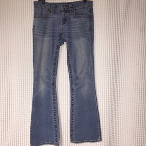 Victoria's Secret Low 5 Flap bootcut Jean